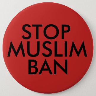 Badge Arrêtez l'interdiction musulmane