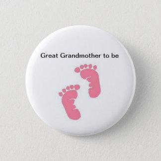 Badge Arrière grand-mère à être