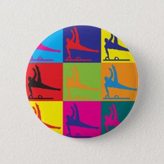 Badge Art de bruit de gymnastique