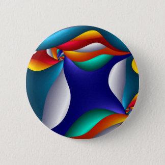 Badge Art de champignon, moderne et contemporain