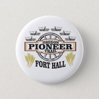 Badge art de pionnier de hall de fort