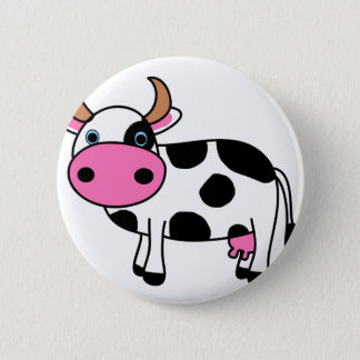 Badge art de vache