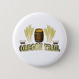 Badge art d'étiquette de traînée de l'Orégon
