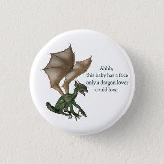 Badge Art d'imaginaire de dragon de bébé