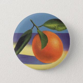 Badge Art vintage d'étiquette de caisse de fruit,