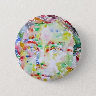 Badge ARTHUR RIMBAUD - aquarelle portrait.2