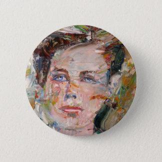 Badge ARTHUR RIMBAUD - portrait d'huile