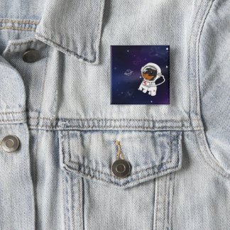 Badge Astronaute minimum de Pin dans le bouton de
