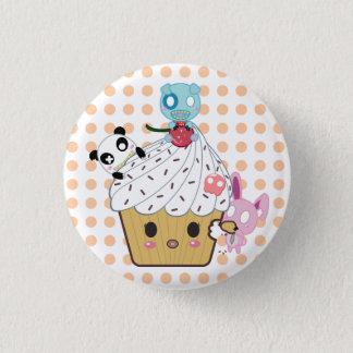 Badge Attaque de petit gâteau ! (>_<)