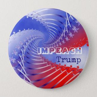Badge Attaquez le bouton rond d'Anti-Atout patriotique