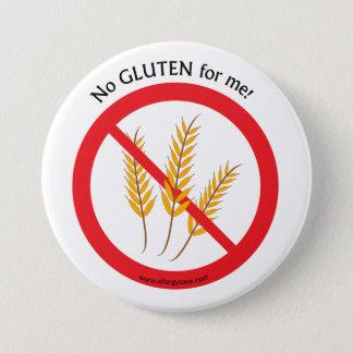 """Badge """"Aucun gluten pour moi"""" insigne de conscience"""