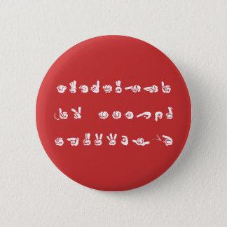 Badge Aucun L graffiti d'ASL