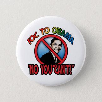 Badge Aucun vous ne pouvez pas