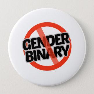 Badge Aucune binaire de genre - -
