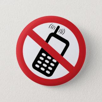 Badge Aucuns téléphones portables