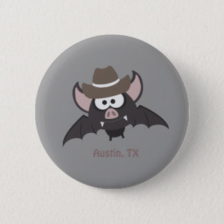 Badge Austin, le Texas - batte de cowboy