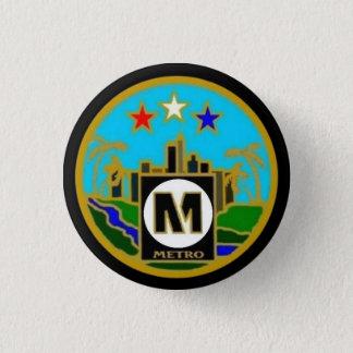 Badge Autobus centraux de métro de Los Angeles de joint