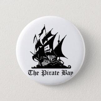 Badge Baie de pirate, piraterie illégale d'Internet de