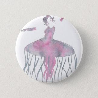 Badge Ballerine de méduses - Genevieve
