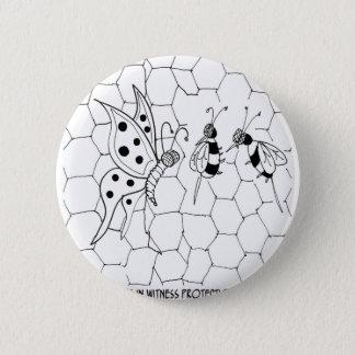 Badge Bande dessinée 8922 de papillon