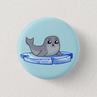 Badge Bande dessinée mignonne de bébé phoque