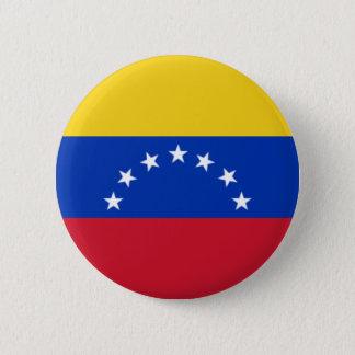 Badge Bandera De Venezuela, 7 Estrellas