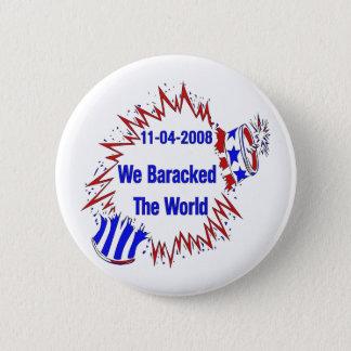 Badge Baracked le monde