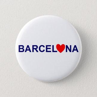 Badge Barcelona love
