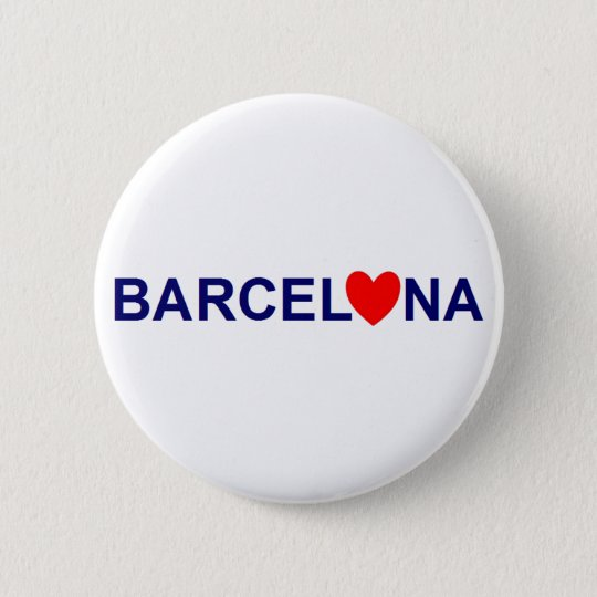 Badge Barcelona love