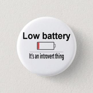 Badge Basse batterie