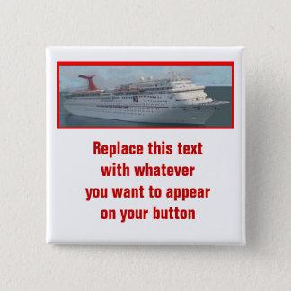Badge Bateau de croisière Button-CIM1a personnalisable