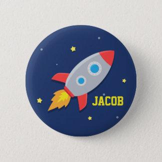 Badge Bateau de Rocket, espace extra-atmosphérique, pour