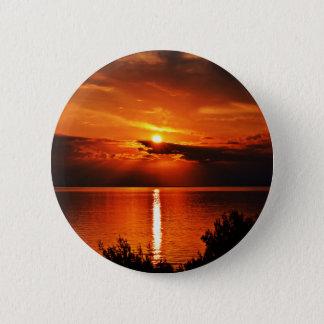 Badge Beau coucher du soleil