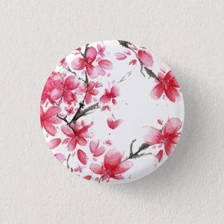 Badge Beau et élégant bouton de Pin de fleurs de