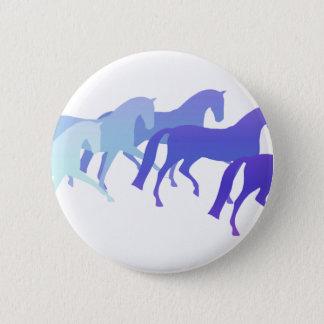 Badge Beaucoup de chevaux (bleus)