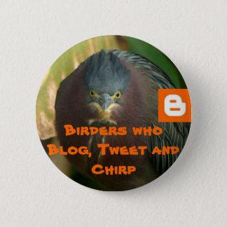 Badge Birders qui blog, bip et gazouillement