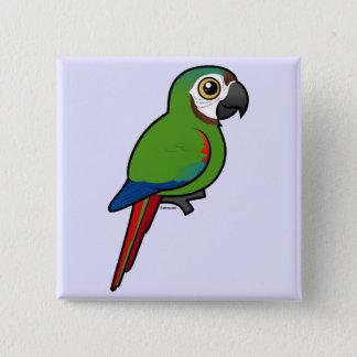 Badge Birdorable Châtaigne-a affronté l'ara