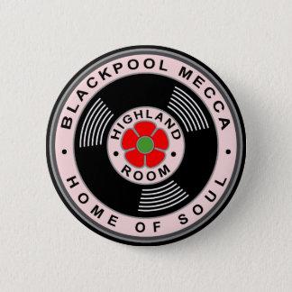 Badge Blackpool Mecque - à la maison de l'âme