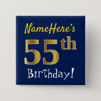 Badge Bleu, anniversaire d'or de Faux