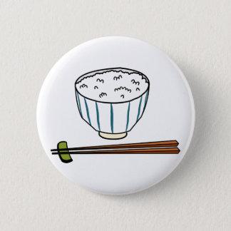 Badge Bol de riz japonais