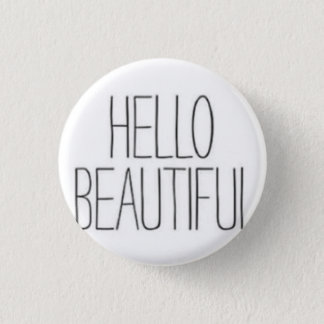 Badge Bonjour beau