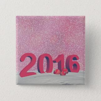 Badge Bonne année 2016