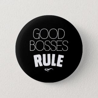 Badge Bonne règle de patrons - type blanc