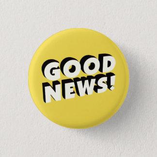 Badge Bonnes nouvelles !