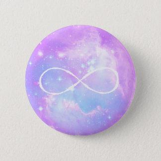 Badge Boucle en pastel d'infini de galaxie
