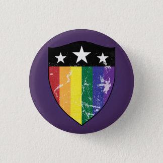 Badge Bouclier 01 (LGBTQIA) de défenseur