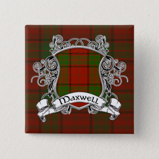 Badge Bouclier de tartan de Maxwell