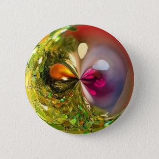 Badge boule verte