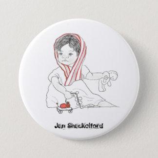 Badge Bouton #08 de bébé de janv. Shackelford