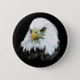 Badge Bouton 2 d'Eagle chauve